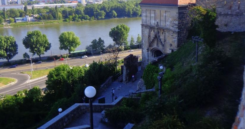 Jardines del Castillo de Bratislava