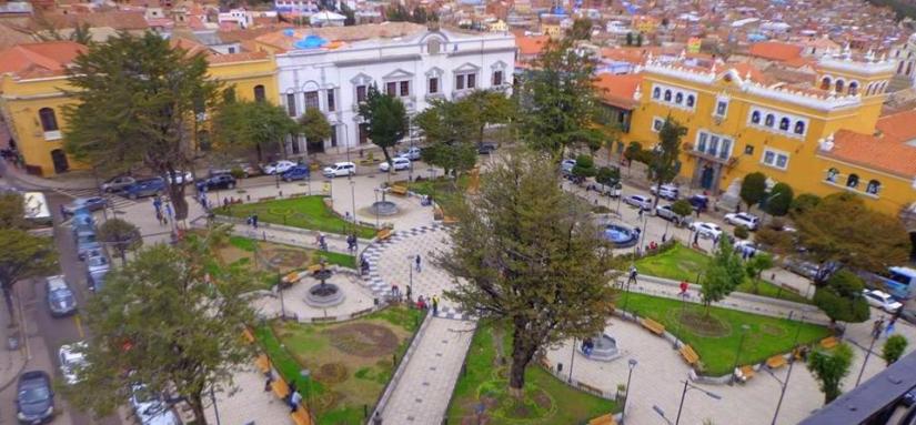 Plaza de Potosi
